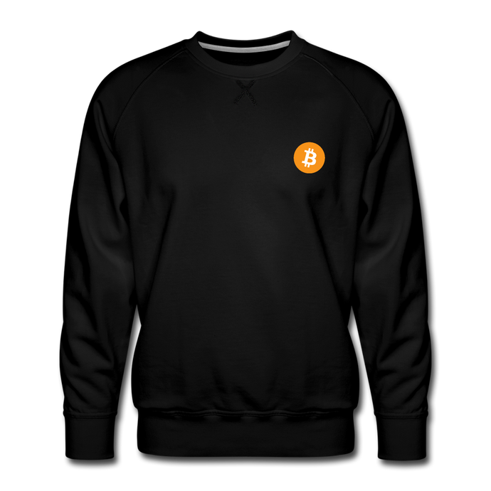 Bitcoin Crew Neck - black