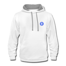 Load image into Gallery viewer, Ethereum Hoodie - white/gray