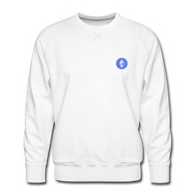 Load image into Gallery viewer, Ethereum Crew Neck - white