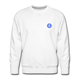 Ethereum Crew Neck - white