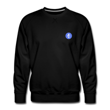 Load image into Gallery viewer, Ethereum Crew Neck - black
