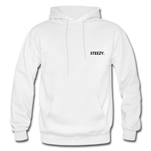 Load image into Gallery viewer, STEEZY. Hoodie - white