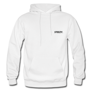STEEZY. Hoodie - white