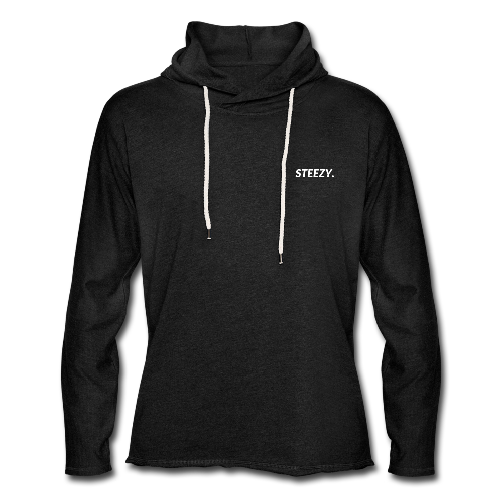 STEEZY. Terry Hoodie - charcoal gray