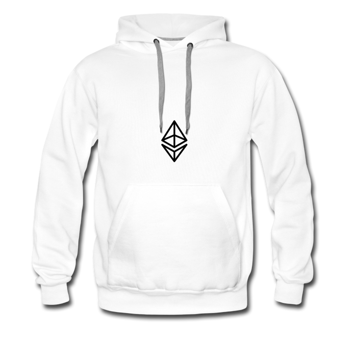 Ether White Hoodie - white