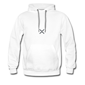 XRP at the Heart Hoodie - white