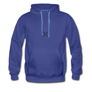XRP at the Heart Hoodie - royalblue