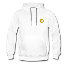 Load image into Gallery viewer, Dogecoin Hoodie - white
