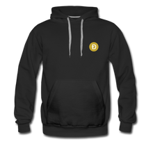 Load image into Gallery viewer, Dogecoin Hoodie - black