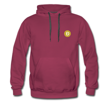 Load image into Gallery viewer, Dogecoin Hoodie - burgundy