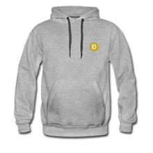 Load image into Gallery viewer, Dogecoin Hoodie - heather gray