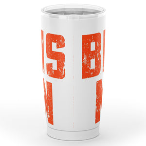 Browns Nation (White) Tumbler