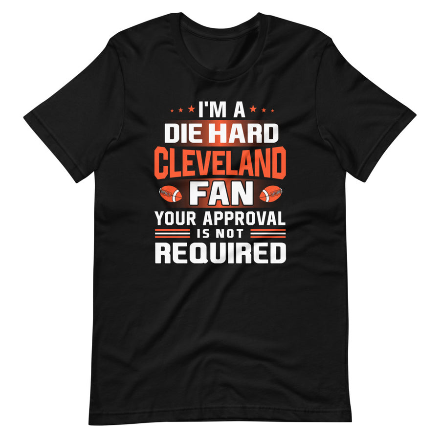 Die Hard Cleveland Fan T-Shirt