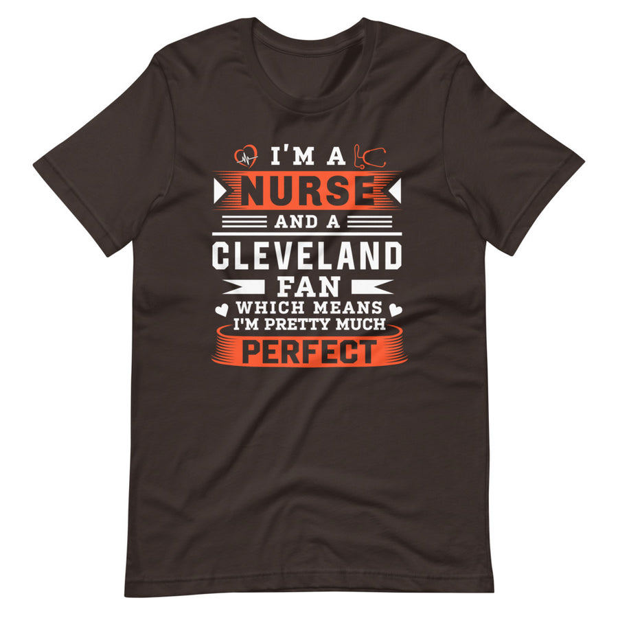 Nurse Cleveland Fan T-Shirt