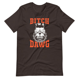 I'm A Dawg Cleveland Browns T-Shirt