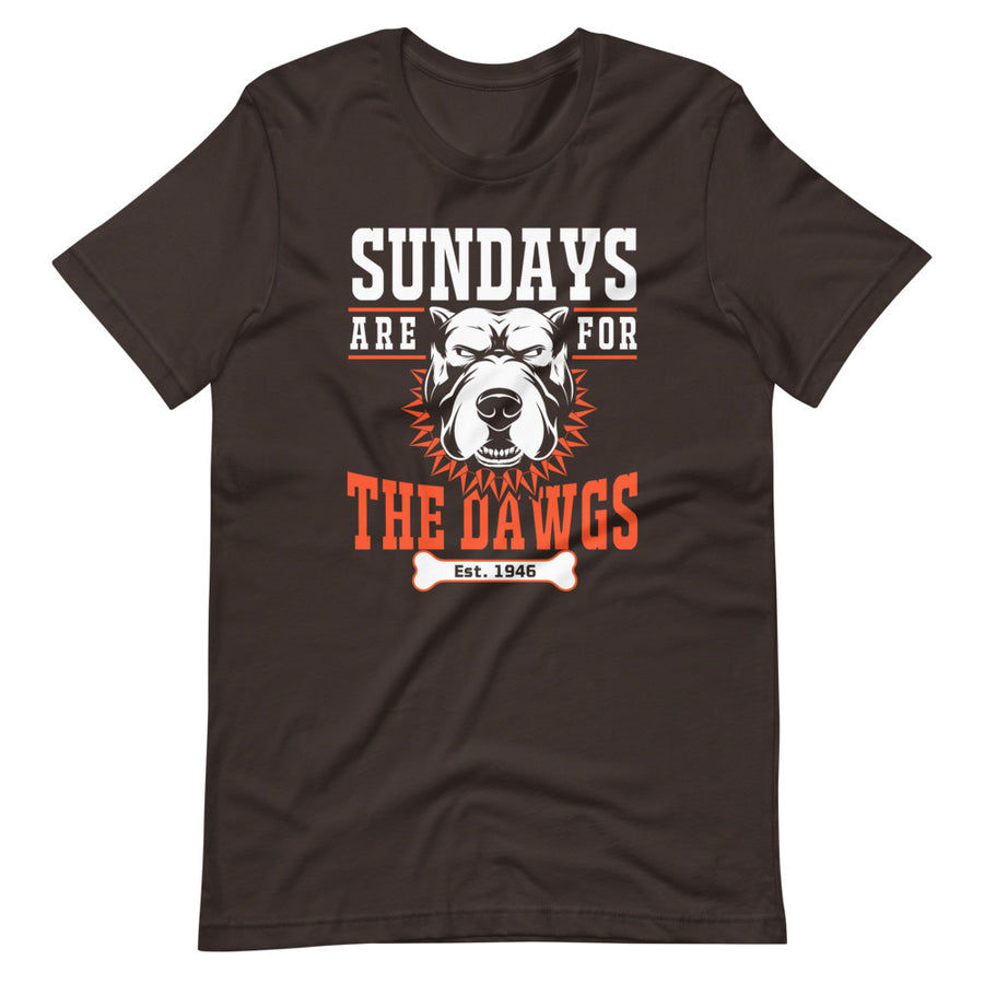 Sundays Are For The Dawgs T-Shirt