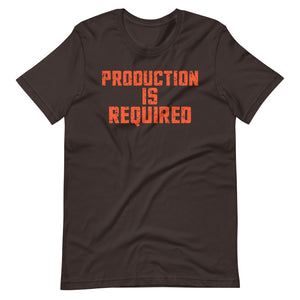 Production Required T-Shirt