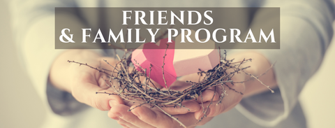 Friends and family program