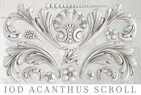 Acanthus Scroll Decor Moulds™ - IOD