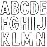 Retro Letters Decor Stamp™ - IOD