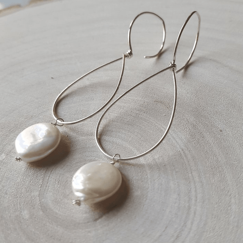 Pearl Teardrops Earrings - Nest Gifts