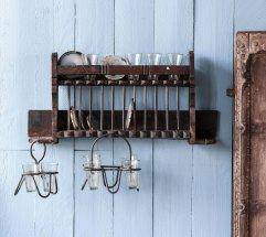 Vintage Wall Rack - Nest Gifts