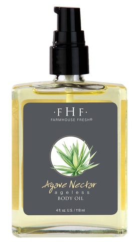 Agave Nectar Ageless Body Oil