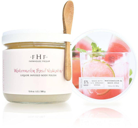 Watermelon Basil Vodkatini Scrub - Nest Gifts