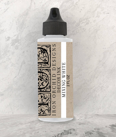 Decor Ink Mixing White 2 oz. - IOD - Nest Gifts