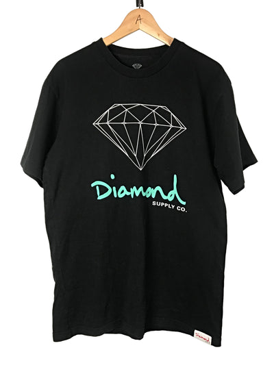 Diamond collection musta t-paita