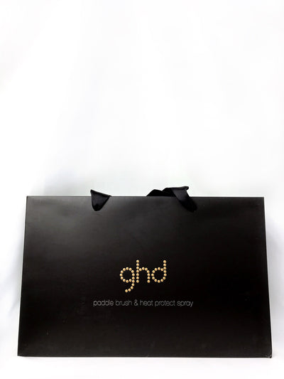 ghd paddle brush & heat protect spray