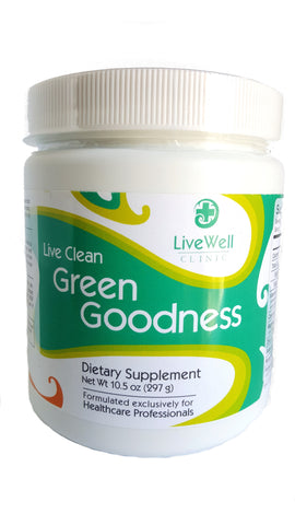 Live Clean Green Goodness