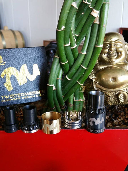 Twisted Messes RDA rebuildable atomizer dripper The Vaping Buddha South San Francisco vape shop located in San Mateo County California