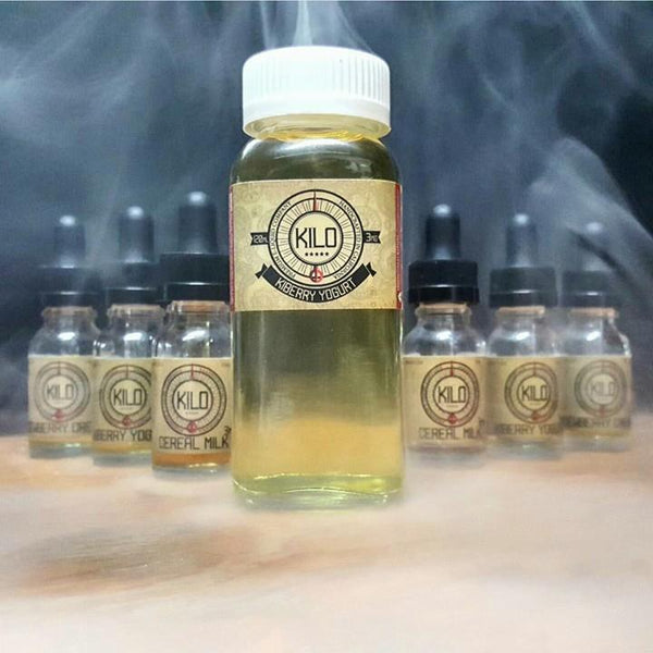Kilo ejuice eliquid nicotine oil The Vaping Buddha South San Francisco vape shop located in San Mateo County California
