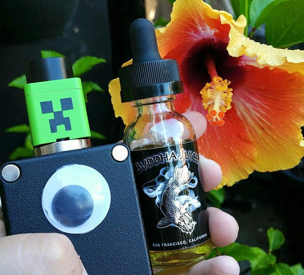 Noxus RDA Blitz Enterprises rebuildable atomizer dripper dripping ejuice eliquid nicotine oil The Vaping Buddha South San Francisco vape shop located in San Mateo County California SFO