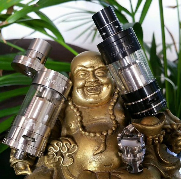 TFV4 Smoktech tank eliquid ejuice nicotine oil subohm The Vaping Buddha South San Francisco vape shop located in San Mateo County California SFO