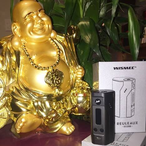 Wismec Reuleaux rx200 variable wattage sub ohm The Vaping Buddha South San Francisco vape shop located in San Mateo County California SFO