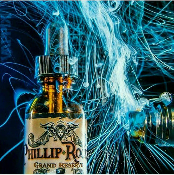 Phillip Rocke Grand Reserve Creme de la Creme ejuice eliquid nicotine oil The Vaping Buddha South San Francisco vape shop located in San Mateo County California SFO