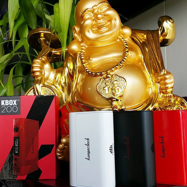 Kanger KBOX 120W temperature control The Vaping Buddha South San Francisco vape shop located in San Mateo County California SFO