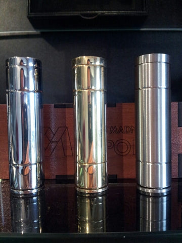 MMVapors Nanos Mechanical Mod Metal Madness Vapors