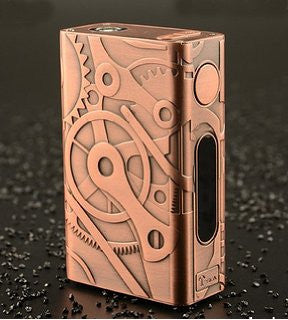 Tesla 100W Nano Steam Punk Copper subohm The Vaping Buddha South San Francisco vape shop located in San Mateo County California SFO
