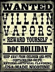 Villain Vapors - Doc Holliday