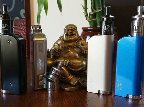 Pioneer4You IPV Mini 30w kit Infinite CLT v1 copper 30 watts vape kit The Vaping Buddha South San Francisco CA