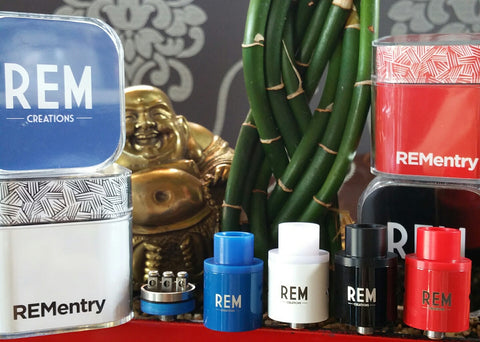 REM Entry Rebuildable Dripping Atomizer RDA by REM Creations