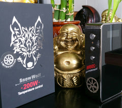 Limited Edition - Gunmetal Snow Wolf 200W by asMODus