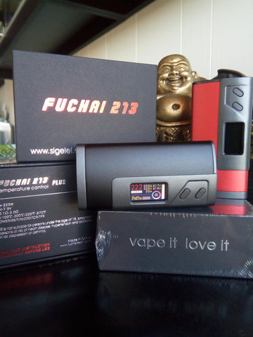 Sigelei Fuchai 213 PLUS with Color Screen