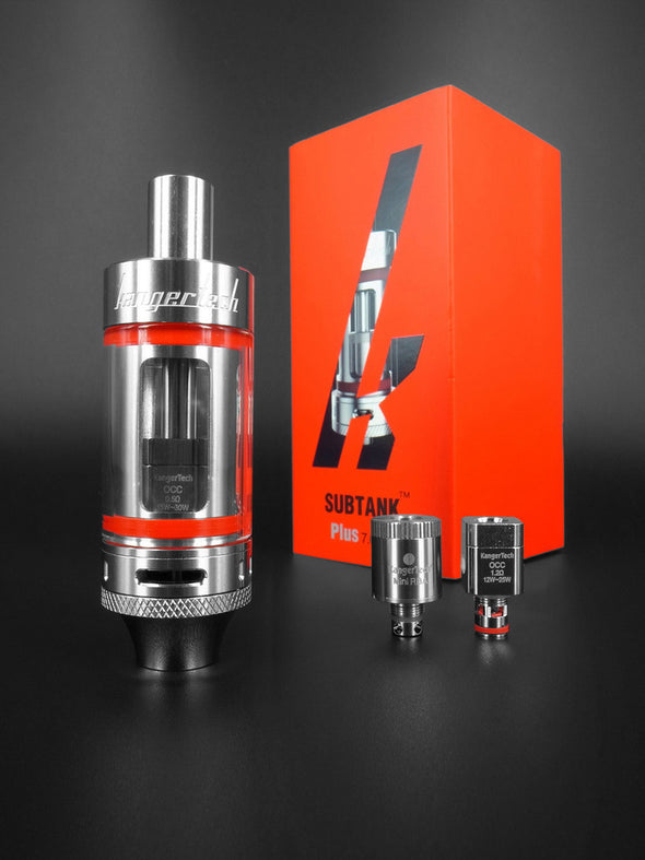 Kanger Subtank Plus 7ml 7ml Sub Ohm Tank Kangertech organic cotton rebuildable RBA deck The Vaping Buddha South San Francisco Vape Shop Store oil eliquid ejuice
