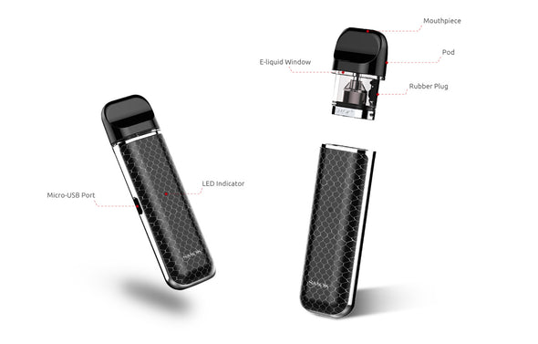 Smok Novo Refillable Pod Kit System for Nicotine Salts