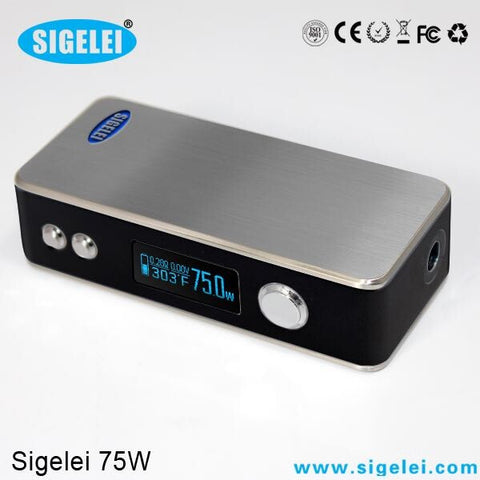 Sigelei 75w boxmod with Temperature Control