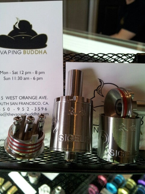 Sigelei Tai Ji 22mm Rebuildable Dripping Atomizer RDA